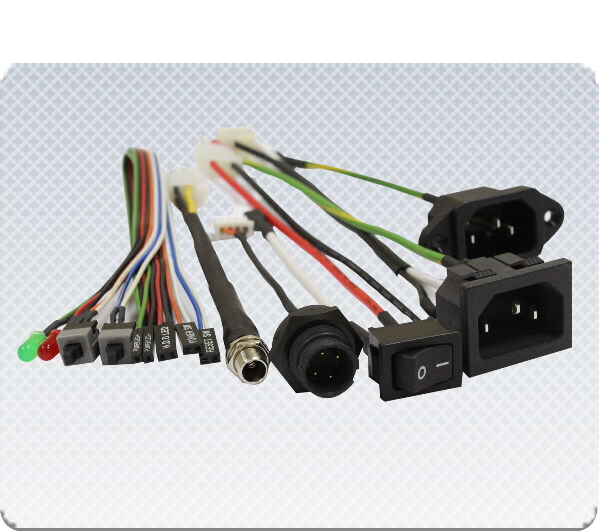Wiring Harness(1)(3) molded cable, molded cable manufacturer & supplier molded wire harness at bakdesigns.co